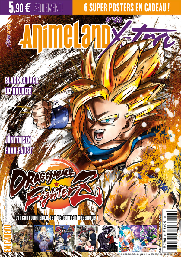 Couverture AnimeLand X-tra 48