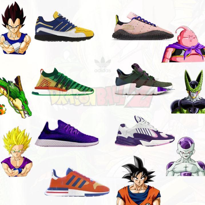 chaussure adidas dragon ball z